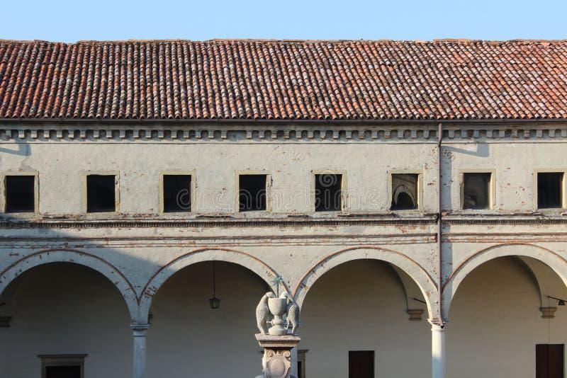 Carceri修道院 免版税库存图片