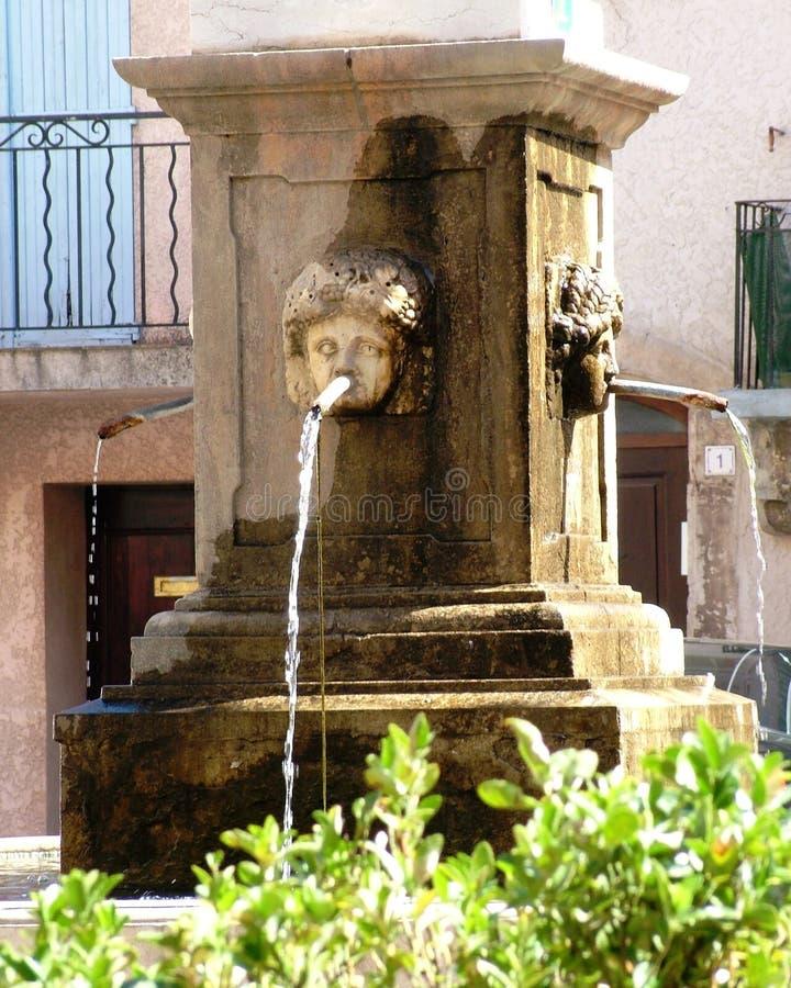 Carces - Var - Франция стоковое фото