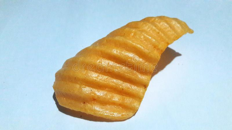 Carcker frito foto de archivo
