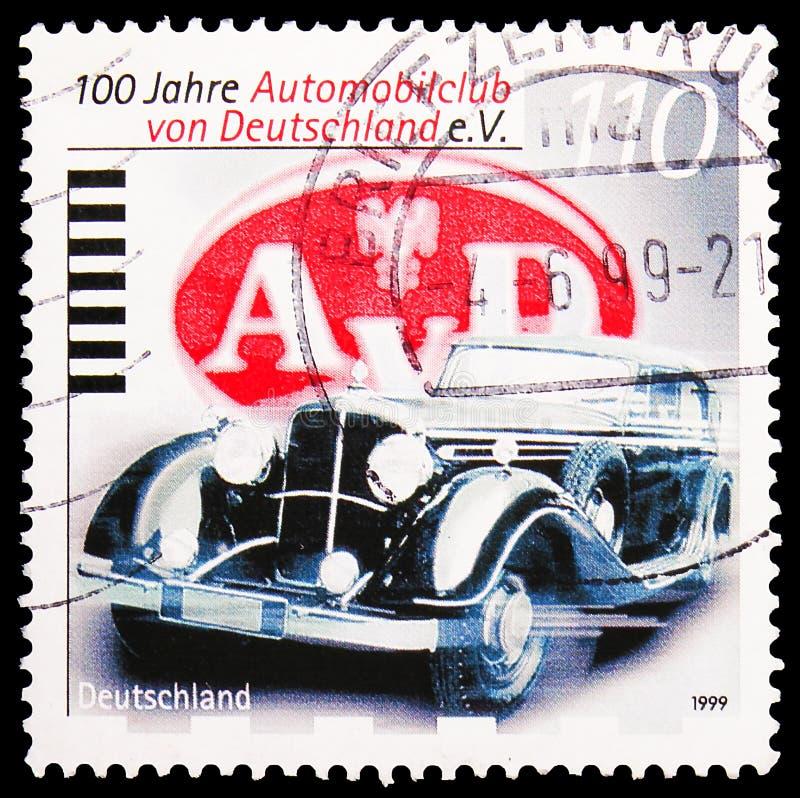 Carclub, Jahrhundert deutschen Automobile Club-serie, circa 1999 lizenzfreie stockbilder