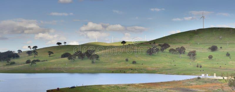 Carcoar tama i rekreacyjny teren, zdjęcie royalty free