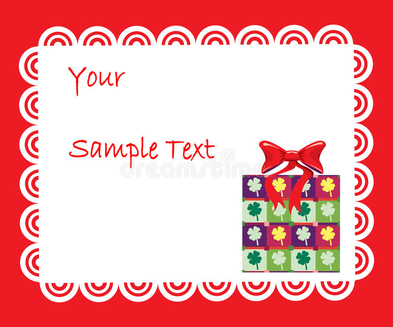 Download Card stock vector. Image of bundle, christmas, floral - 11566335