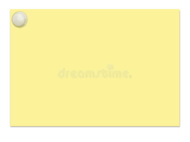 Download Card stock photo. Image of reminder, yellow, white, page - 13479908