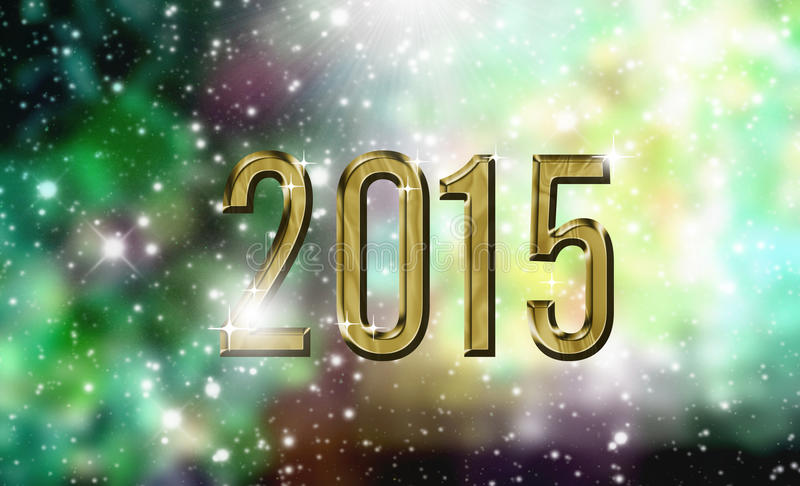 2015 card stock photo