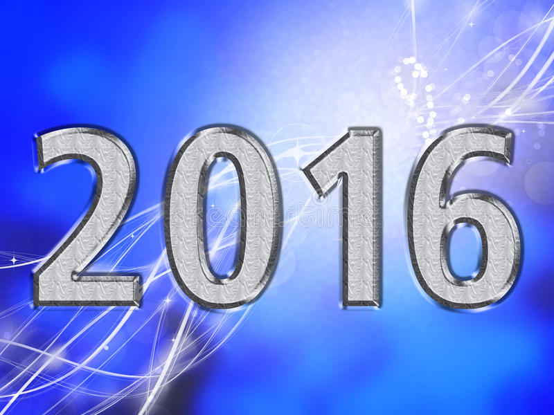 2016 card royalty free stock photo