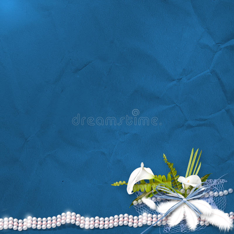 Download Card For Anniversary With Bunch Stock Illustration - Image: 21448963