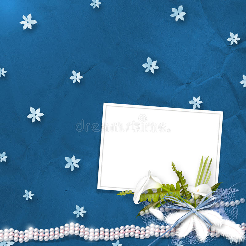 Download Card For Anniversary With Bunch Stock Illustration - Image: 21506434