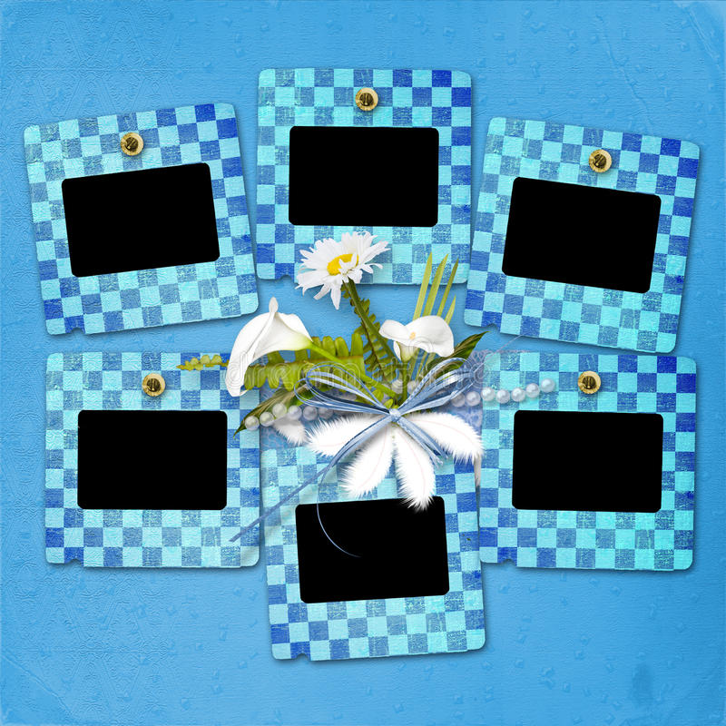 Download Card For Anniversary With Bunch Stock Illustration - Image: 21506485