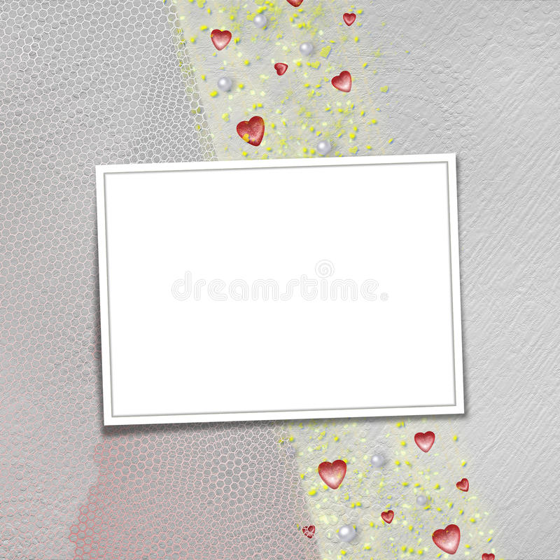 Download Card For Anniversary Or Congratulation Stock Illustration - Image: 9974222