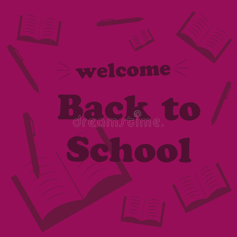 Download Card Back To School Stock Photo - Image: 34001120