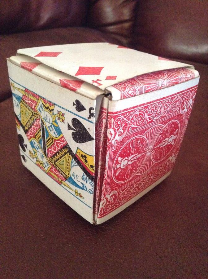 Card box royalty free stock photo
