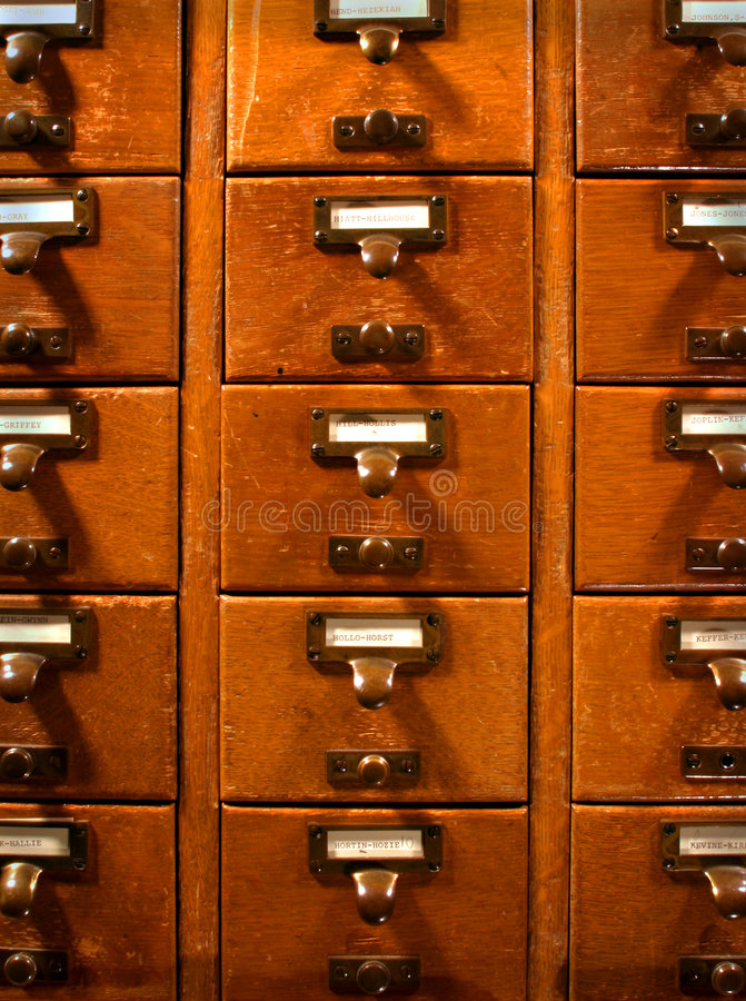 Free Card Catalog Royalty Free Stock Photography - 6546457