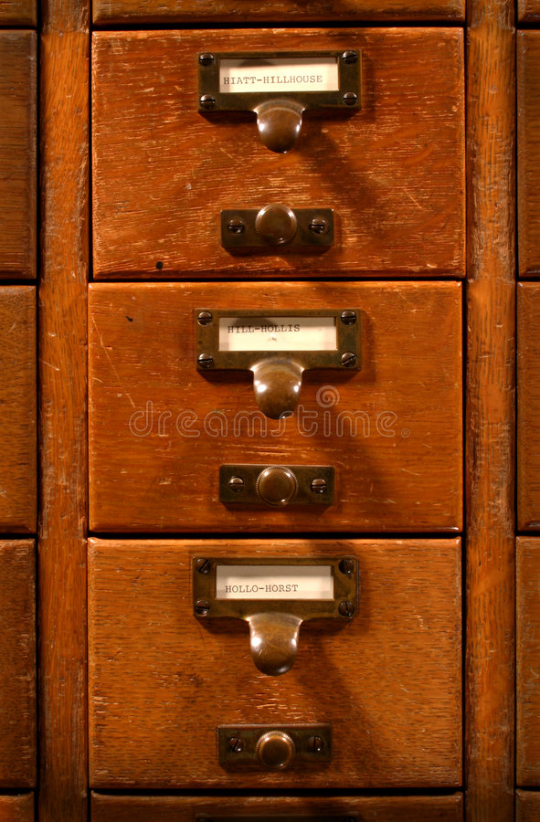 Free Card Catalog Stock Images - 6546524
