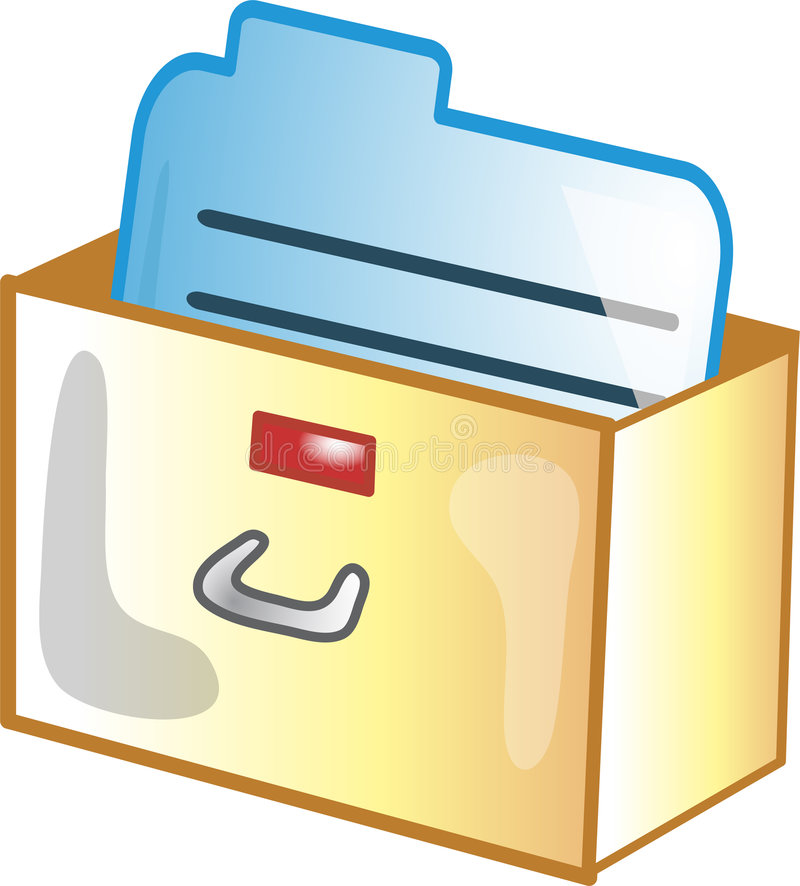 Download Card Catalog icon stock vector. Image of bibliographyinformation - 6655564