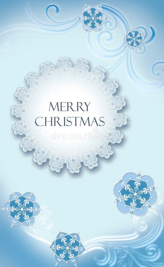 card christmas stock illustration
