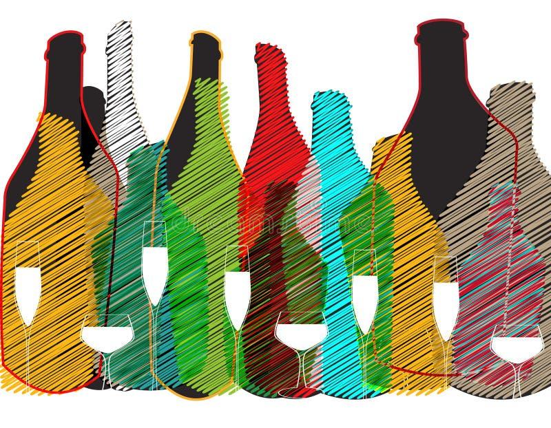 Card Cocktail Invation vector illustration