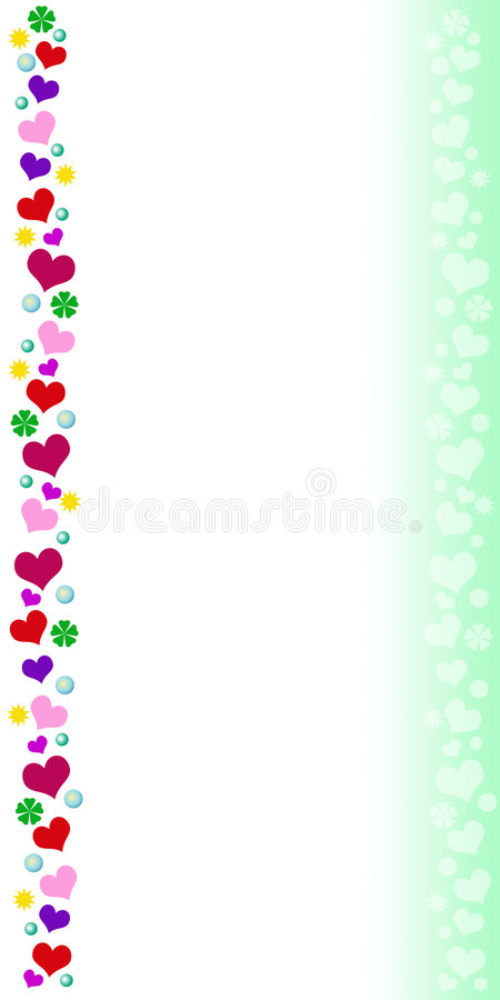 Card with colored border