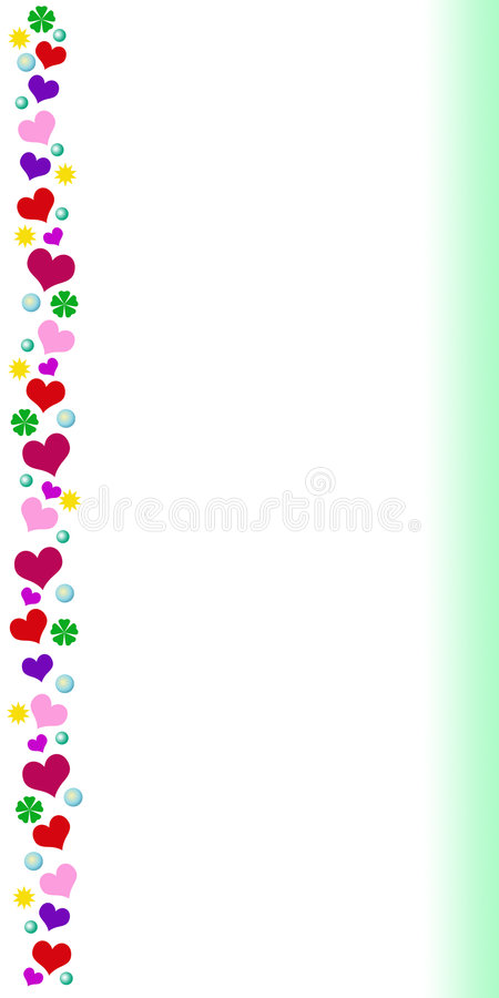 Download Card with colored border stock illustration. Illustration of offset - 7672677