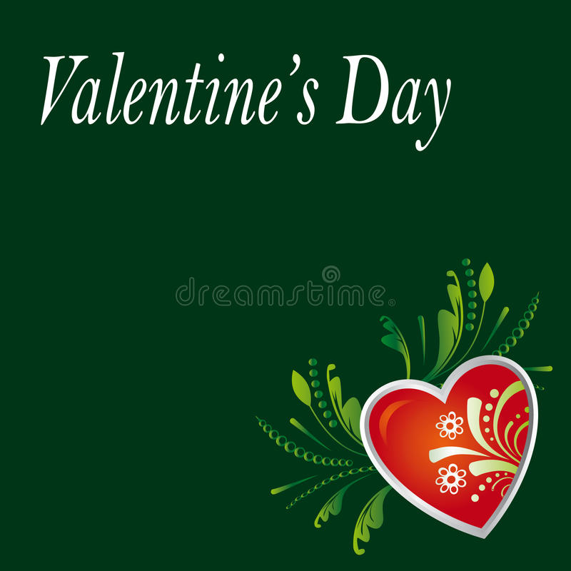 Card on the day of Valentine s Day