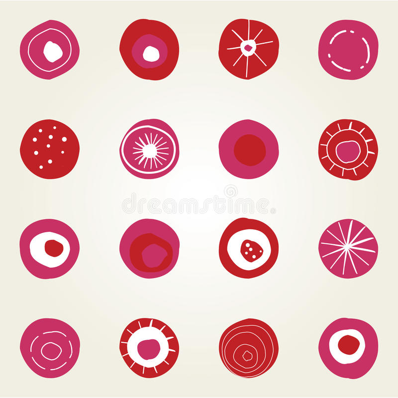 Download Card design with dots stock illustration. Image of background - 12464894