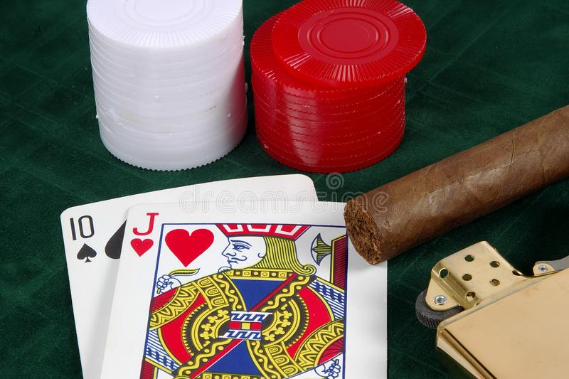 Download Card Game stock image. Image of deal, casino, game, deck - 37045
