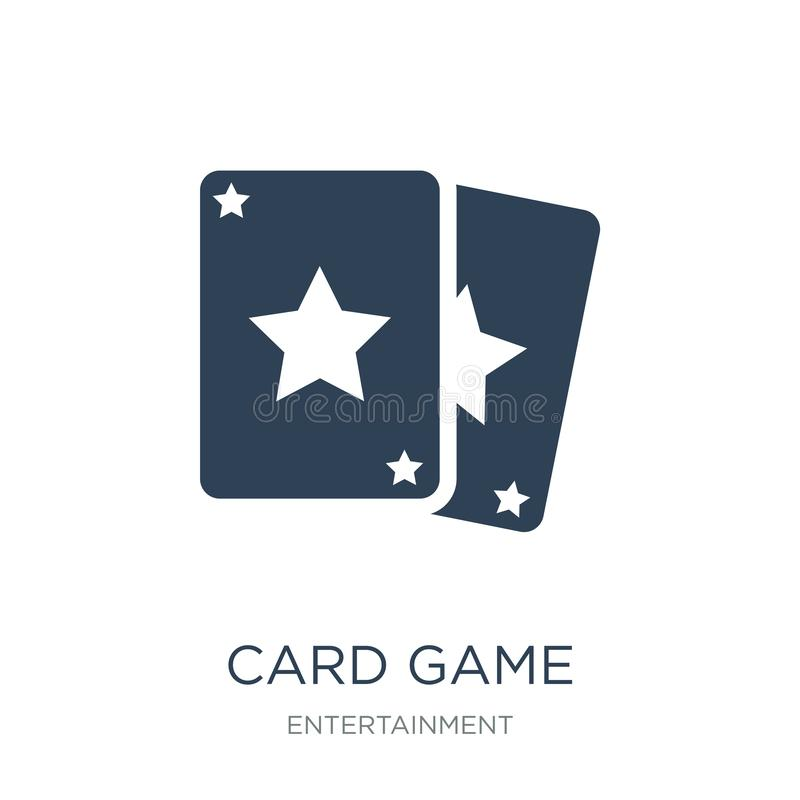 Card game icon in trendy design style. card game icon isolated on white background. card game vector icon simple and modern flat. Symbol for web site, mobile royalty free illustration