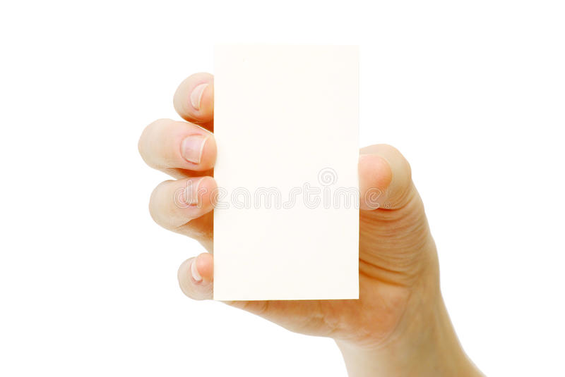 Download Card In Hand Royalty Free Stock Photography - Image: 16793897