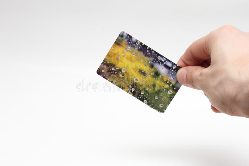 Download Card In Hand Stock Photo - Image: 40812660