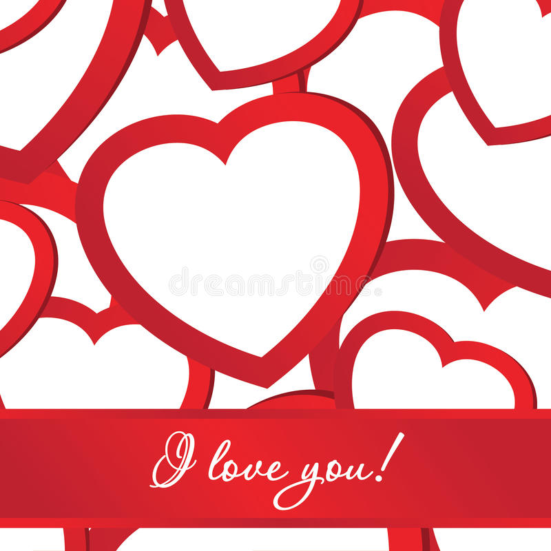 Download Card Of Holiday Background With Valentines Stock Vector - Image: 22800552