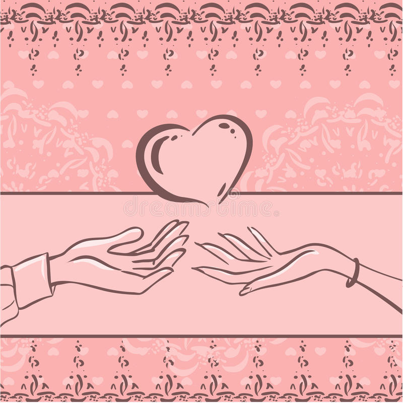 Download Card Love Stock Image - Image: 34164641