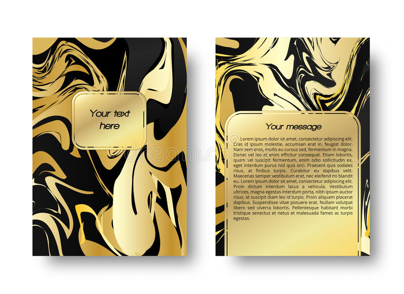 Card marble pattern royalty free stock photos