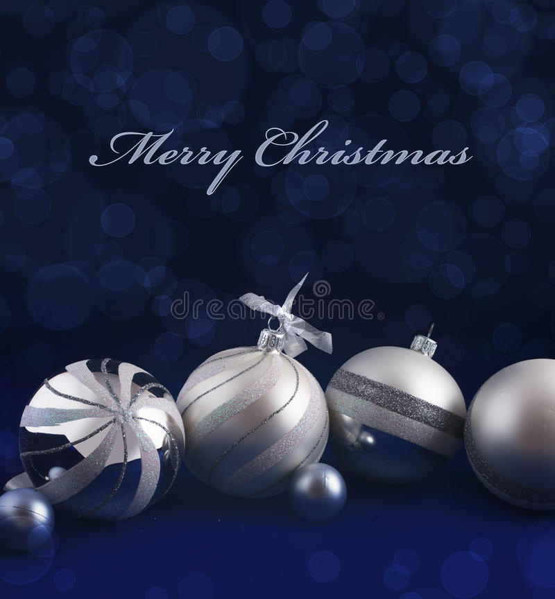 Card - Merry Christmas royalty free stock photo