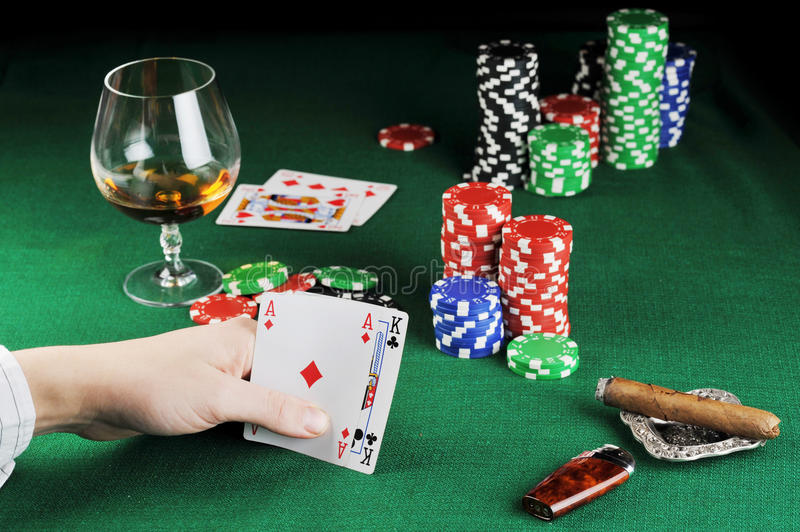 Card play stock photos