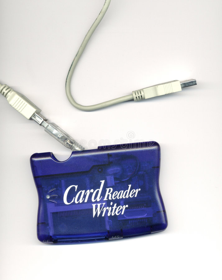 Card reader royalty free stock photography