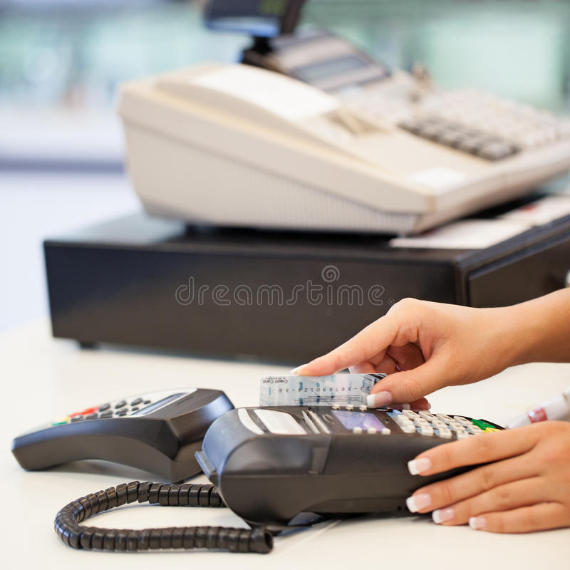 Card and Reader stock photos