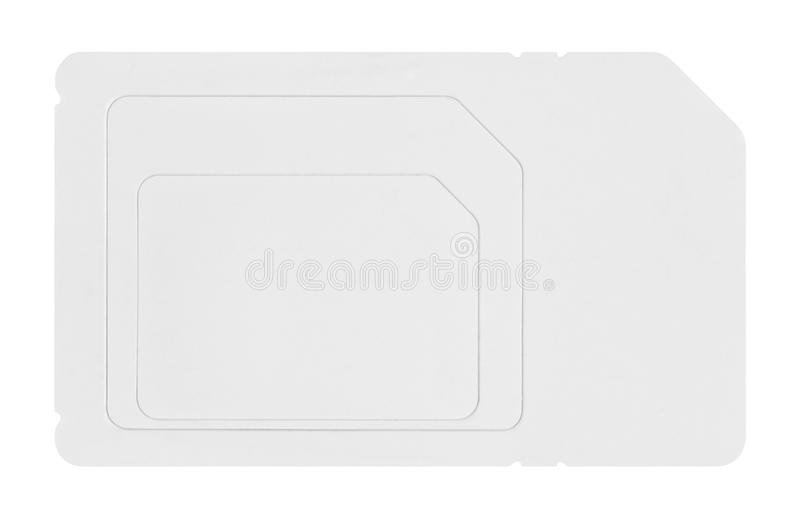 card sim royaltyfri foto