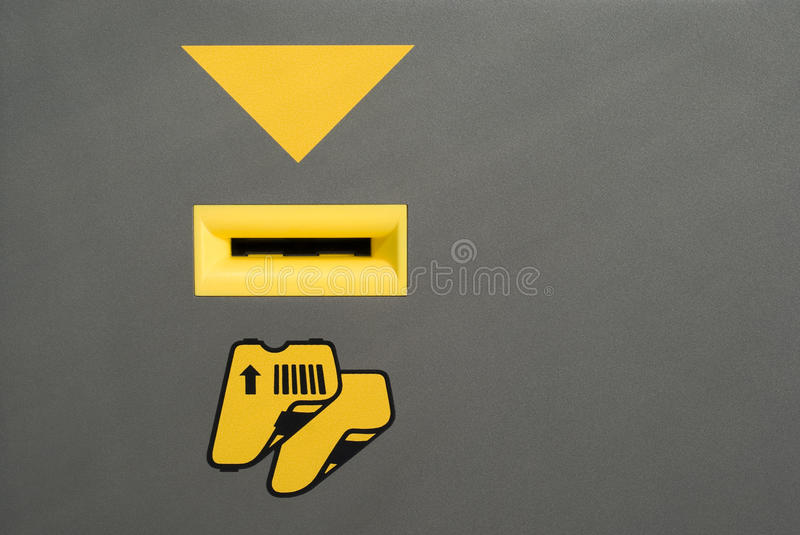 Download Card slot stock image. Image of meter, object, detail - 18256137