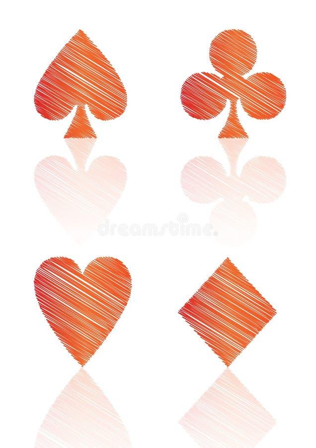 Card Symbols Royalty Free Stock Photo