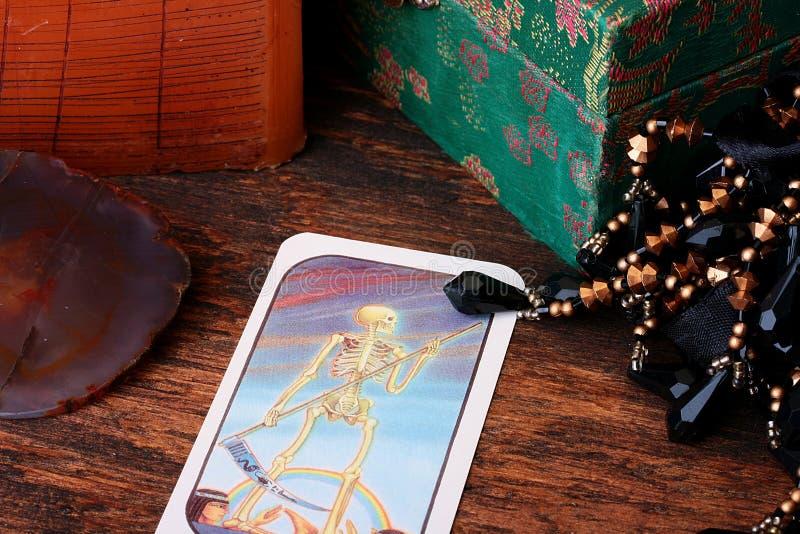 Card tarot stock photography