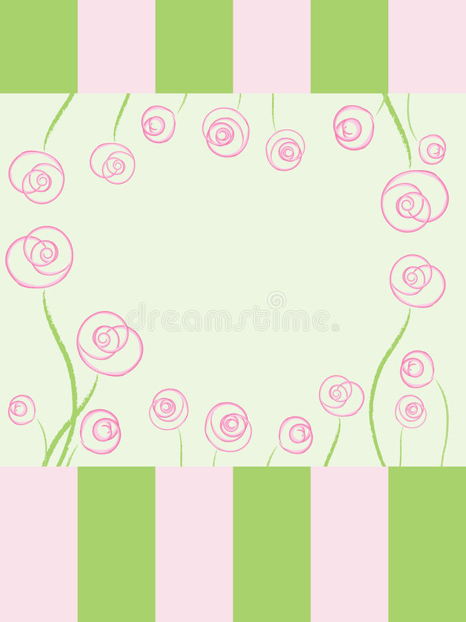 Free Card With Roses Stock Images - 20656094