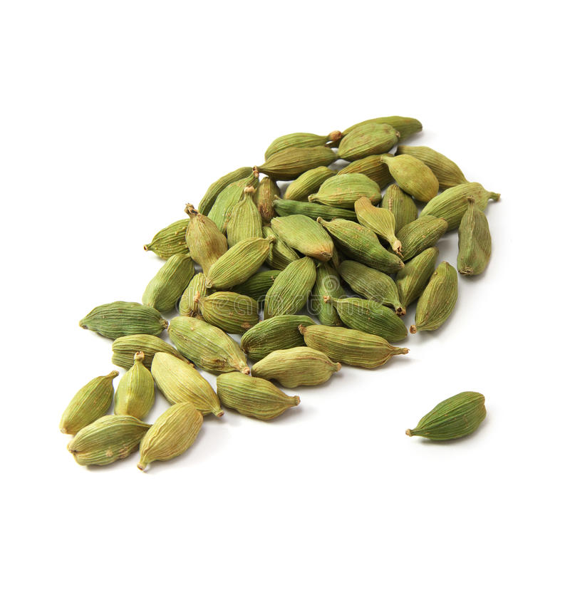 Cardamom isolated. Element of design royalty free stock photos
