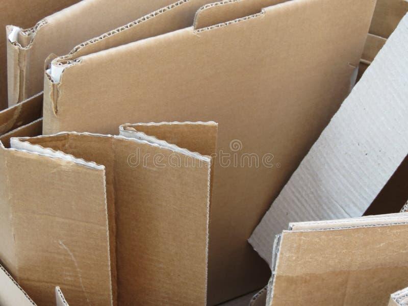Cardboad ondulado foto de stock