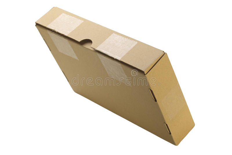 Download Cardboard box stock image. Image of remote, shot, single - 26523713