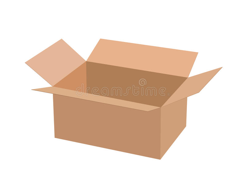 Download Cardboard Box. Royalty Free Stock Photography - Image: 26867707