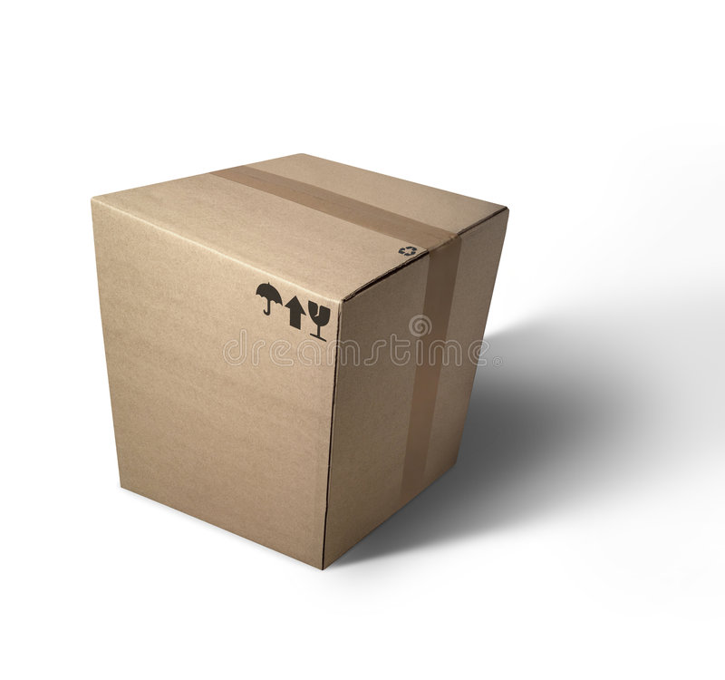 Free Cardboard Box Royalty Free Stock Photography - 2710957