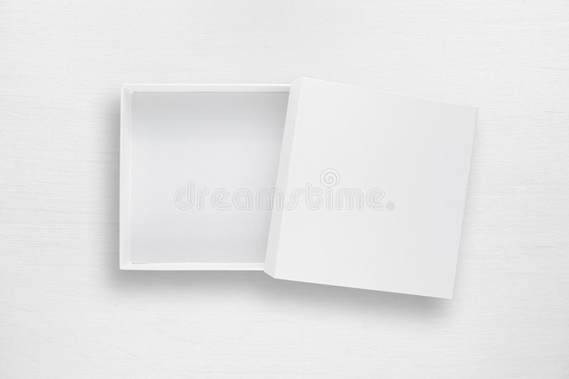white table top view. Delighful Table Download Cardboard Box With Cover On White Table Stock Photo  Image Of  Background Desk Throughout Top View