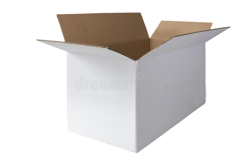 Download Cardboard Box stock image. Image of object, shipping - 34148381