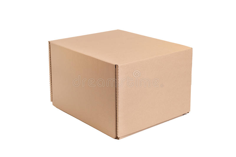 Download Cardboard box stock image. Image of up, brown, package - 36318043