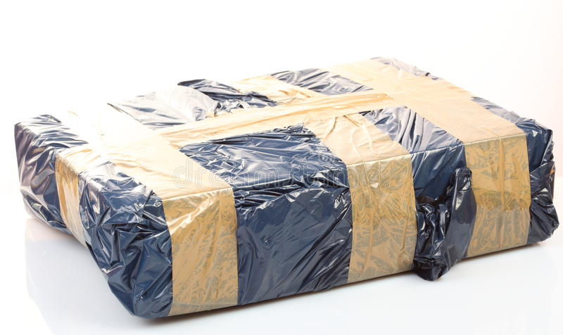 Download Cardboard Box With Tape, Secure Package Stock Photo - Image: 19525852