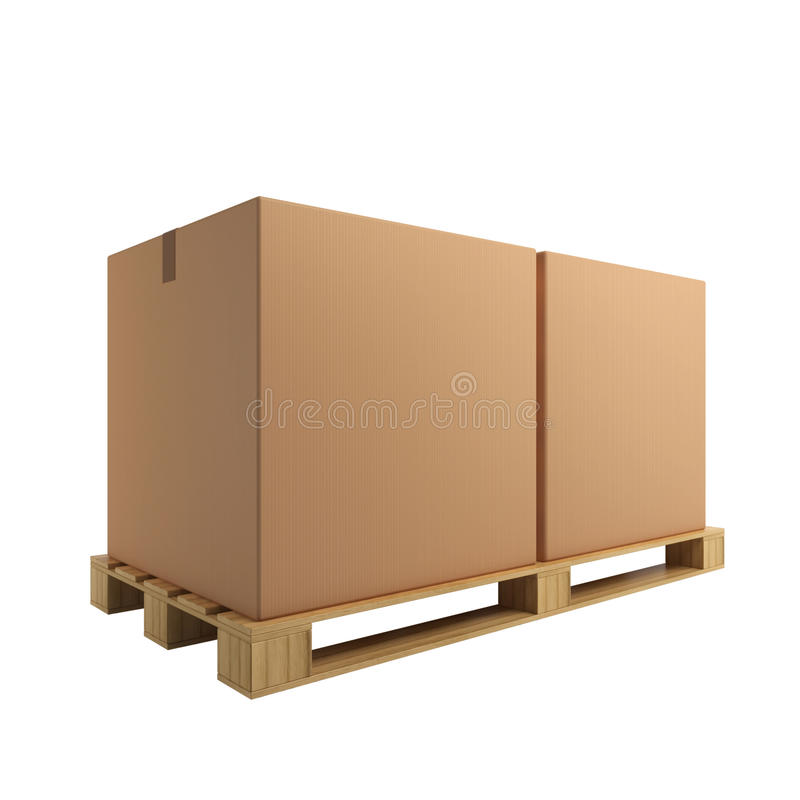 Download Cardboard Boxes Stock Photos - Image: 18693993